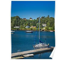 Oakland from Mahone Bay Poster