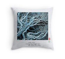 Valley Mist Throw Pillow