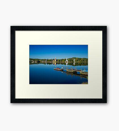 Mahone Bay Framed Print