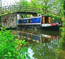 Barge at Dod`s Bridge by Colin  Williams Photography