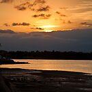 Five Dock sunset by Alexander Meysztowicz-Howen