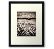 Sandy Point Lighthouse Framed Print