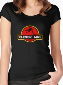 Clever Girl Women's Fitted Scoop T-Shirt