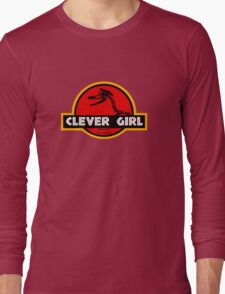 Clever Girl Long Sleeve T-Shirt