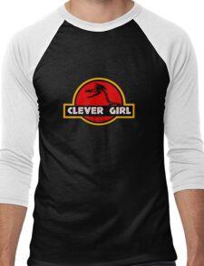 Clever Girl Men's Baseball ¾ T-Shirt