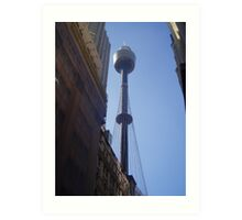 Centrepoint Tower - Sydney Central Art Print