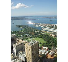One of the views from Centrepoint Tower Photographic Print