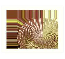 Earth Waves Art Print