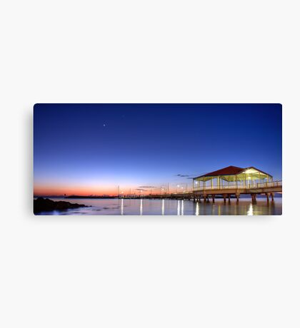 Redcliffe Jetty Canvas Print