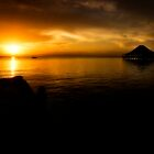 Sunrise at Leyte Park by zabcoloma