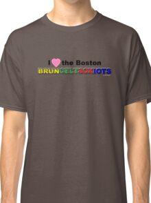 I Love Boston Sports (pink heart 2) Classic T-Shirt