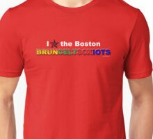 I Love Boston Sports (nautical star) Unisex T-Shirt