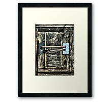 Ice Box Framed Print