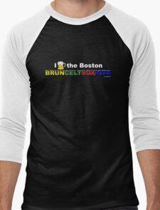 I Love Boston Sports (beer) Men's Baseball ¾ T-Shirt