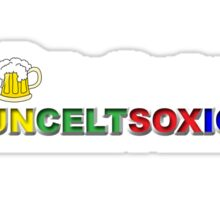 I Love Boston Sports (beer) Sticker