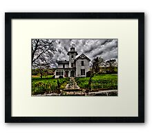 The Devil's Church Framed Print