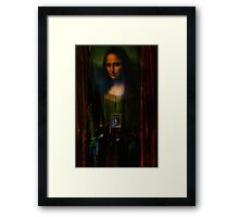 Private Auction 2055 Framed Print