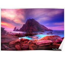 Sugarloaf Rock, Dunsborough Poster