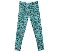Tiffany Blue Guts Leggings