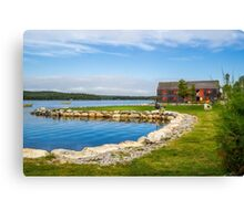 Shelburne Waterfront Canvas Print