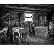 The Old Workshop Photographic Print