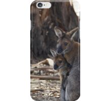 Mother Wallaby and Child iPhone Case/Skin