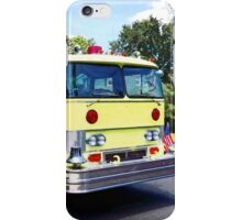 Yellow Fire Truck iPhone Case/Skin