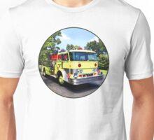 Yellow Fire Truck Unisex T-Shirt