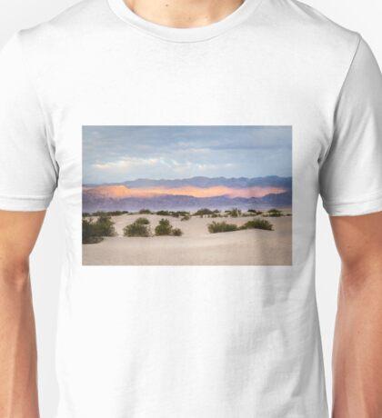 Burning Sunrise in Death Valley Unisex T-Shirt