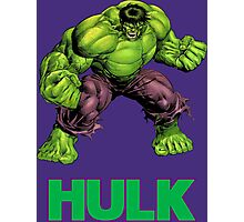 Hulk Photographic Print