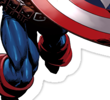 Captain America Sticker