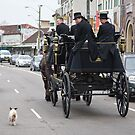 Funeral escort by Alexander Meysztowicz-Howen
