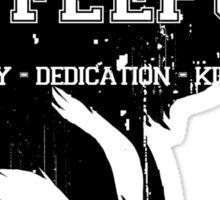 Hufflepuff (black) Sticker