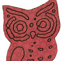 Retro Owl Craftwork by Nixxie