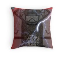 The Witches' Tower Throw Pillow
