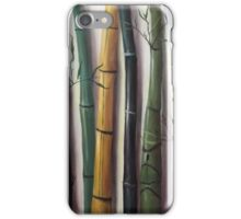Black Bamboo 3 iPhone Case/Skin