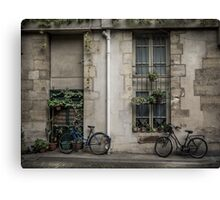 The Bicycles Canvas Print