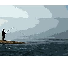 fisherman Photographic Print