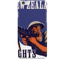 New Zealand Fights! iPhone Case/Skin