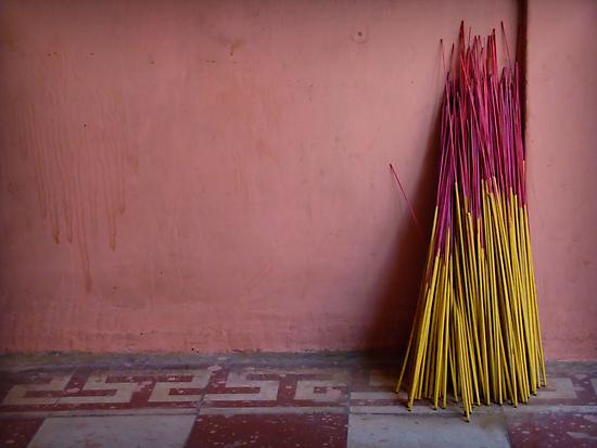 Joss Sticks by Caroline Fournier