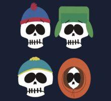 Southern Skulls by Vitalitee