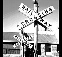Railway Crossing by kostasimage