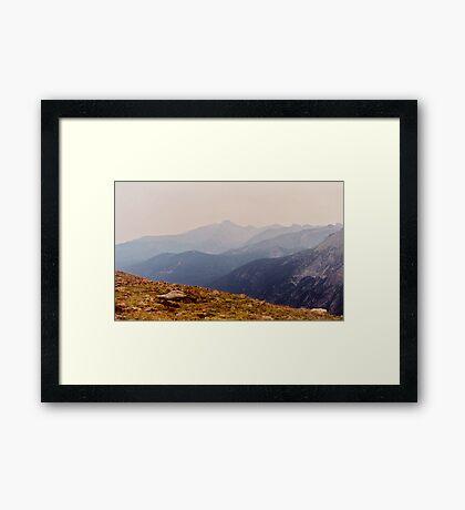Wildfire Skies 2 Framed Print