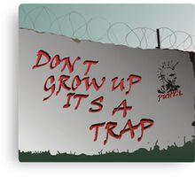 It's a trap... Canvas Print