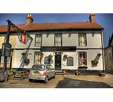 The Golden Lion - Helperby North Yorkshire Photographic Print