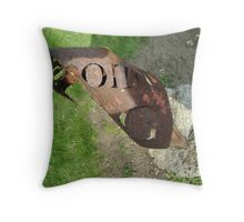 Fire Point G Throw Pillow