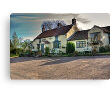 The Hare Inn - Scawton near Helmsley,North Yorkshire Canvas Print