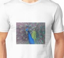 Peacock vignette  Unisex T-Shirt