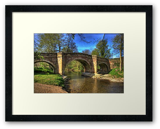 The Bridge near Scawton,North Yorkshire by Trevor Kersley