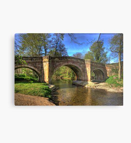 The Bridge near Scawton,North Yorkshire Metal Print